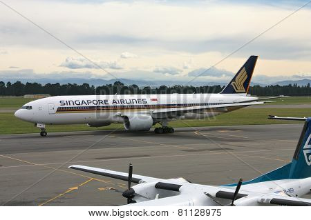 Singapore Airlines B777