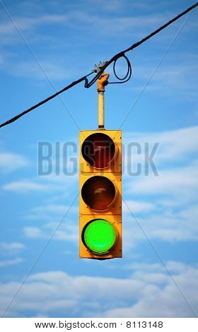 Stoplight On Green