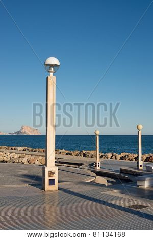 Altea Beach Promenade