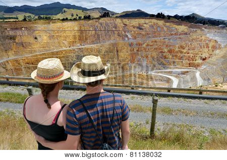 Waihi Gold Mine Town - New Zealand