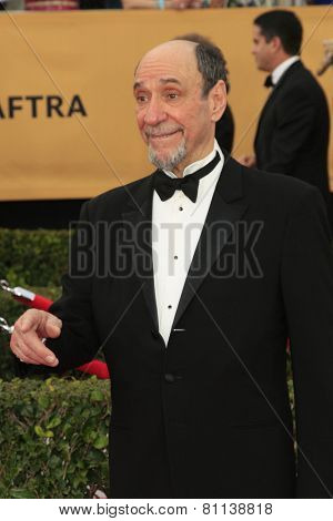 LOS ANGELES - JAN 25:  F. Murray Abraham at the 2015 Screen Actor Guild Awards at the Shrine Auditorium on January 25, 2015 in Los Angeles, CA