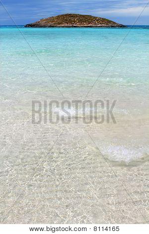 Illetes Beach Islands Formentera Balearic Island