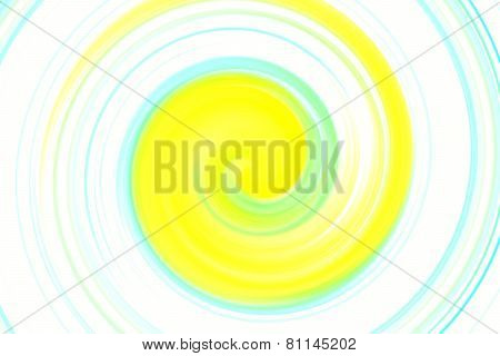 Abstract Colorful Spin