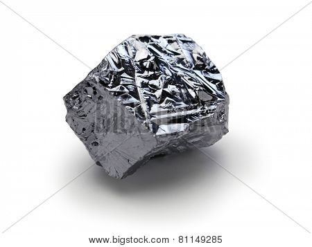 polycrystalline silicon, polysilicon isolated on white background