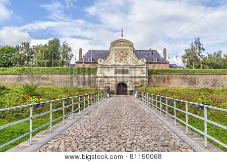 Entrance To The Vauban Citadel, Lille