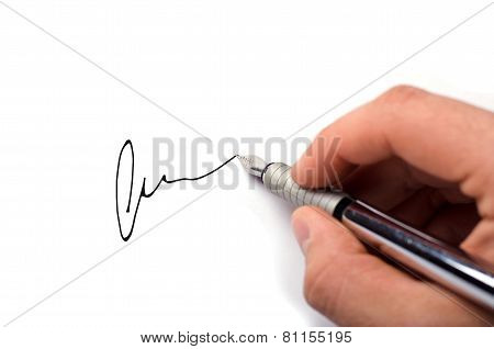 Business signature