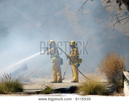 Chatworth Brush Fire