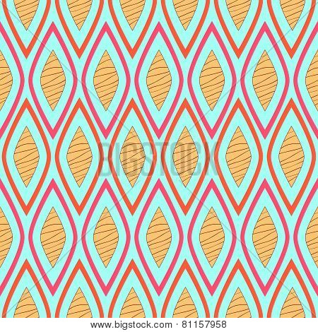 Stripy Retro Pattern