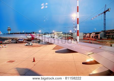 Fiumicino Airport - First Airport Of Rome City On June 1, 2014