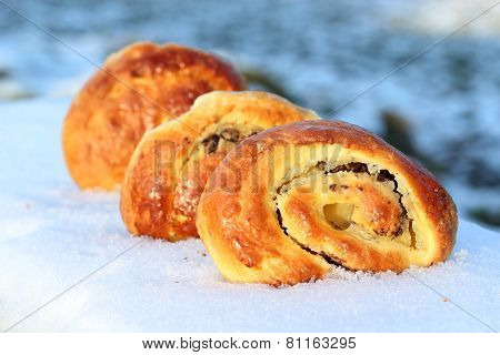 french chocolate brioches