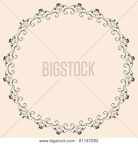 Abstract Background, Ornamental Vector Illustration