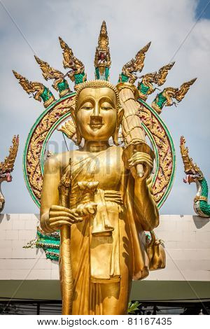 Statue Of The Buddha In Krabi,thailand
