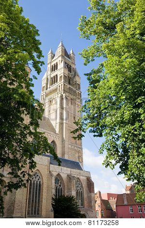 St. Salvator's Cathedral, Bruges, Belgium