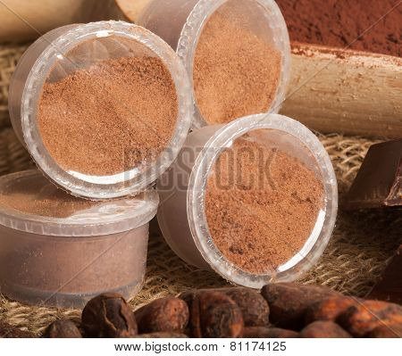 Capsules Of Chocolate