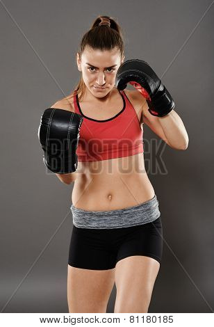 Uppercut From Kickbox Girl
