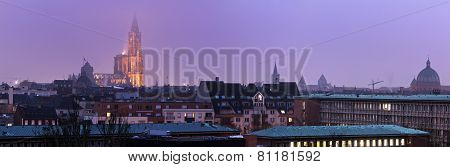 Panorama Of Strasbourg