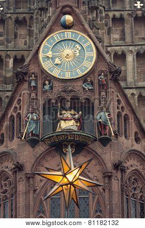 The Frauenkirche - Church Of Our Lady With The Clock - The Männleinlaufen