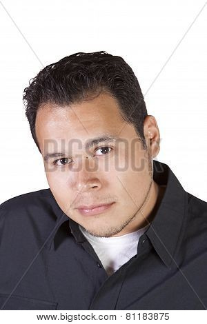 Handsome Casual Hispanic Man