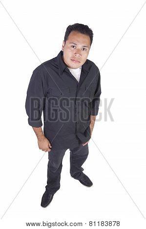 Casual Handsome Hispanic Man