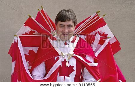 Canadian Flagman
