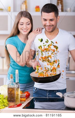 They Love Cooking Together.
