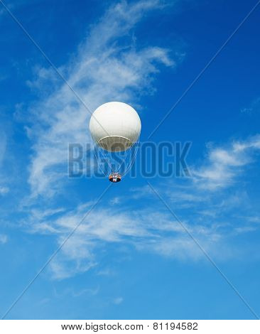 The Big Balloon On A Background Of The Blue Sky
