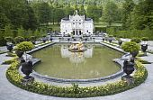 stock photo of munich residence  - An image of the beautiful Castle Linderhof - JPG