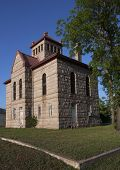 stock photo of jail  - Historic landmark in Llano - JPG