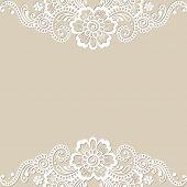 pic of embellish  - Flower vector ornament frame - JPG