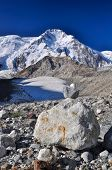 foto of shan  - Scenic view of highest mountain in Tien - JPG
