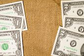 pic of sack dollar  - Banknotes  - JPG