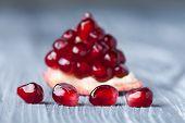 pic of pomegranate  - Pomegranate seeds - JPG