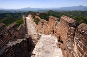 image of qin dynasty  - The famous Great Wall of China is one of the wonders of the world - JPG