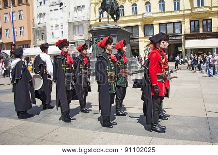 Changing Of The Guard Honorary Cravat Regiment