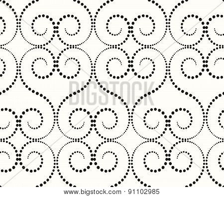 the pattern of large whorls