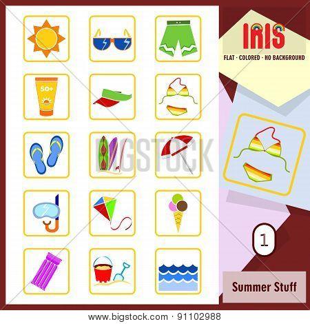 Iris Icons - Summer Stuff 1