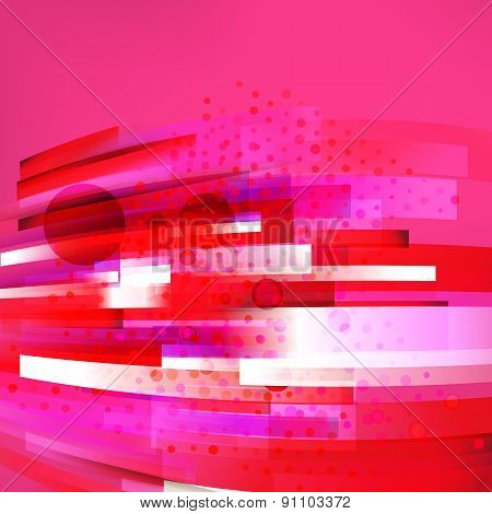 Abstract Bottom Oriented Rose Colors Background