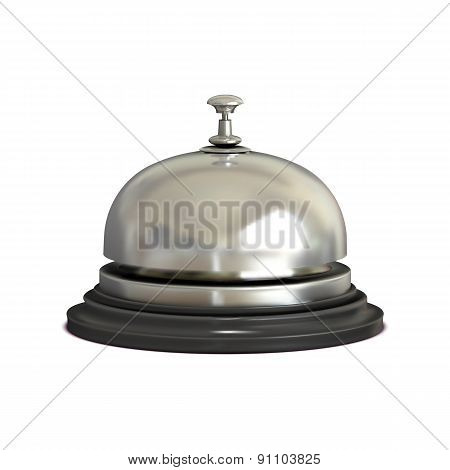 Chrome Vector Reception Bell