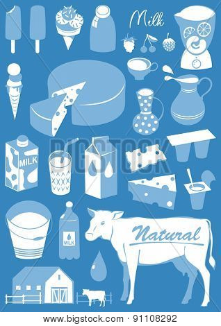 Food collection - Milk