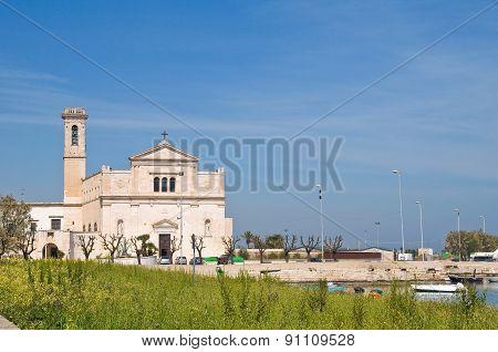 Madonna dei Martiri Church. Molfetta. Puglia. Italy.