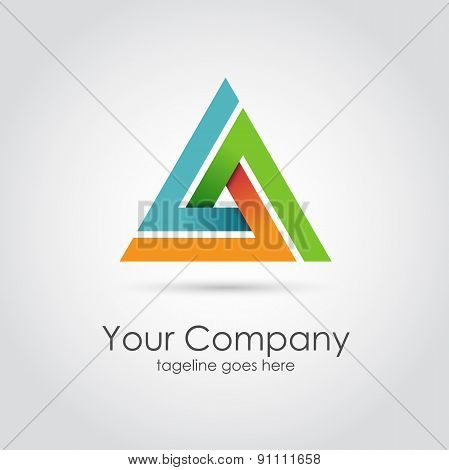 Abstract Triangle Company Logo