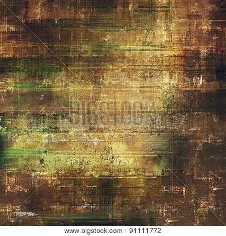 Grunge retro vintage texture, old background. With different color patterns: yellow (beige); brown; black; green
