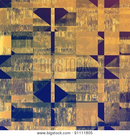 Old grunge antique texture. With different color patterns: yellow (beige); brown; blue; purple (violet)