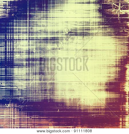 Grunge old texture as abstract background. With different color patterns: yellow (beige); pink; blue; purple (violet)