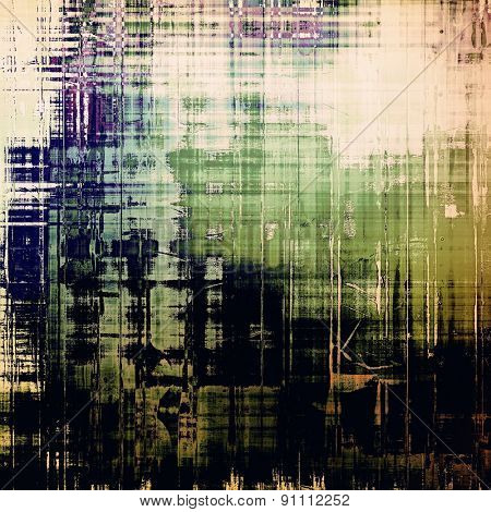Art grunge vintage textured background. With different color patterns: yellow (beige); black; green; blue