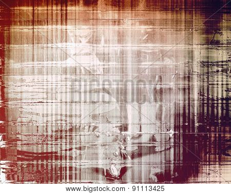 Old grunge template. With different color patterns: yellow (beige); brown; gray; purple (violet)