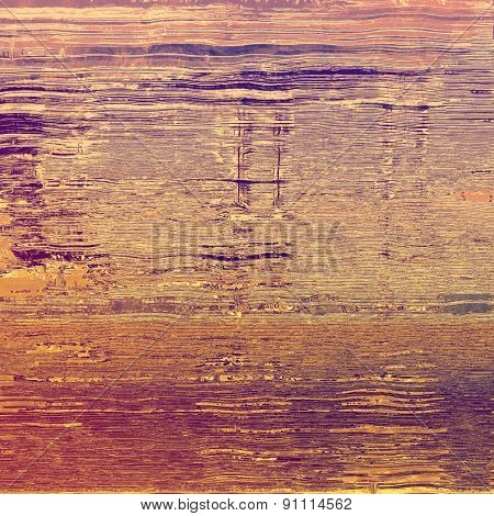 Aged grunge texture. With different color patterns: yellow (beige); brown; pink; purple (violet)