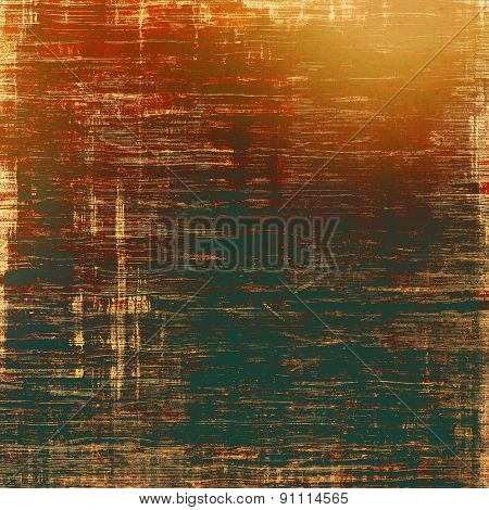 Old antique texture (for background). With different color patterns: yellow (beige); brown; black