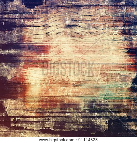 Grunge retro vintage texture, old background. With different color patterns: yellow (beige); brown; black; purple (violet)