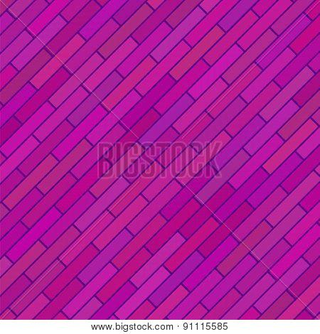 Pink Brick Background.